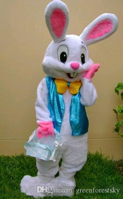 2019 Adults Easter Rabbit Mascots Costume Suits Cosplay Fancy Dress Party Game