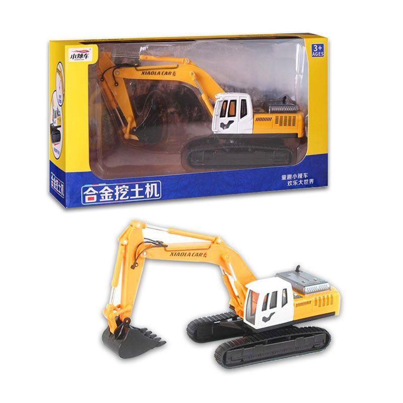 High Simulation Alloy Engineering Vehicle Model Toys Vehicles Kids Toys Engineering Excavator