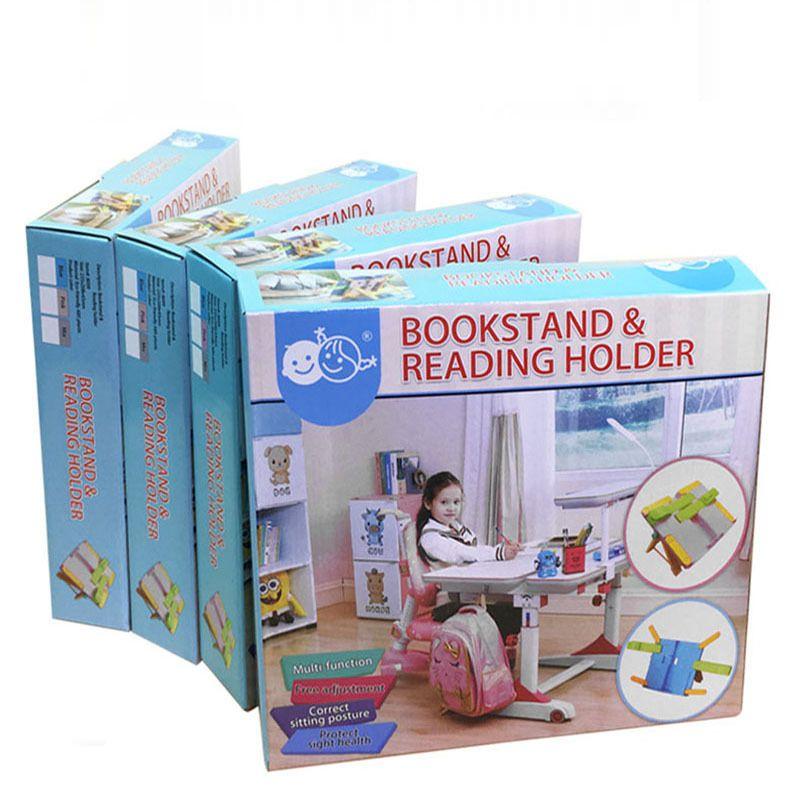 Reading frame multi-function reading bookshelf plastic children's book folder typing frame student gift giveaway