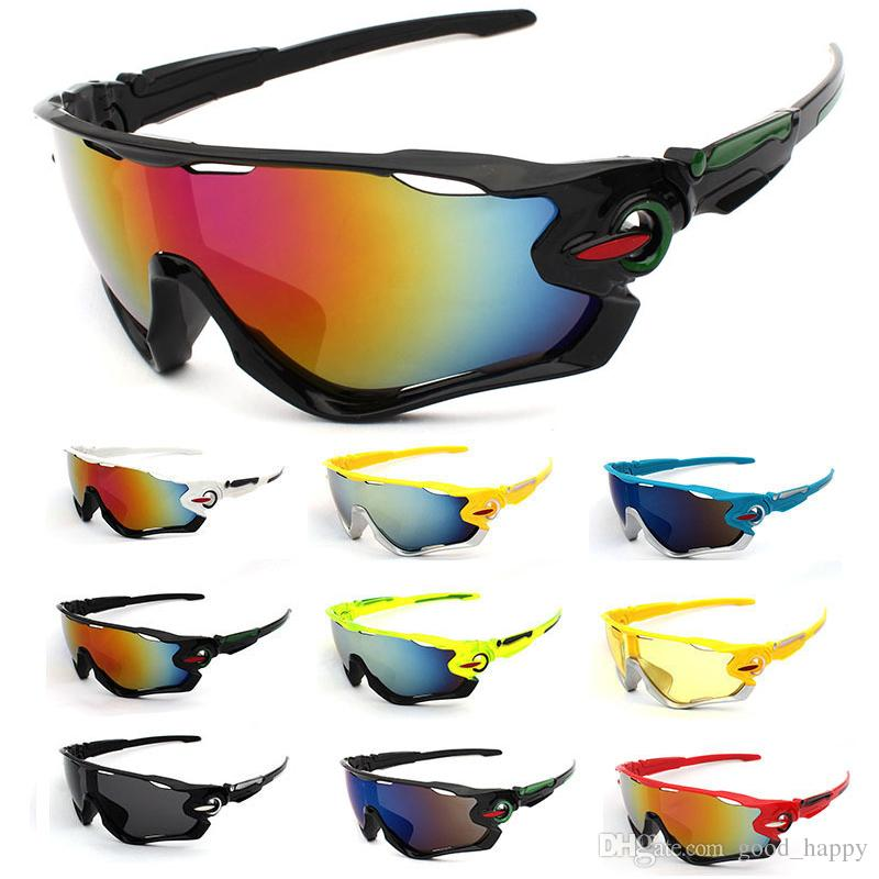 Fashion Design Cycling Sunglasses for Mens Women Running Fishing Motorcycle Ski Golf Outdoor Sports Eyeglasses Anti-fall Best Quality