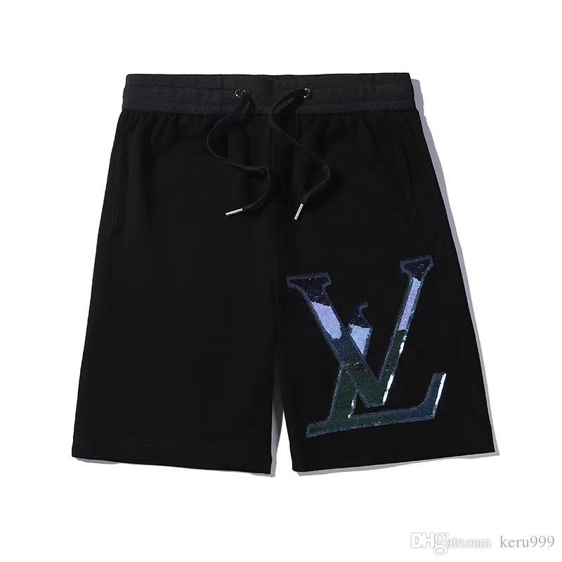 Waterproof Fabric Wholesale Summer Men's Printed Letters Shorts Brand Clothing Swimwear Nylon Beach Pants Swimming Board Shorts