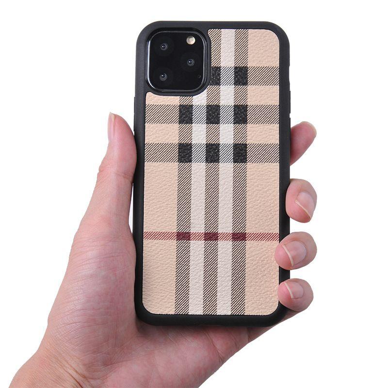 Clásico suave TPU de la PU del cuero del teléfono para el iPhone 11 X XS MAX XR 8plus 7plus 6s Casos Plus moda para Samsung S10 S9 S8 Nota 8 9 Cubierta