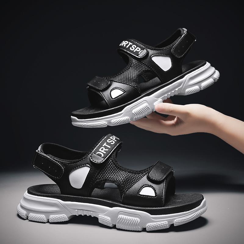 Casual ajustable zapatillas de playa de los hombres al aire libre de moda de verano sandalias respirables al aire libre Zapatillas Zapatos Hombre Chaussures