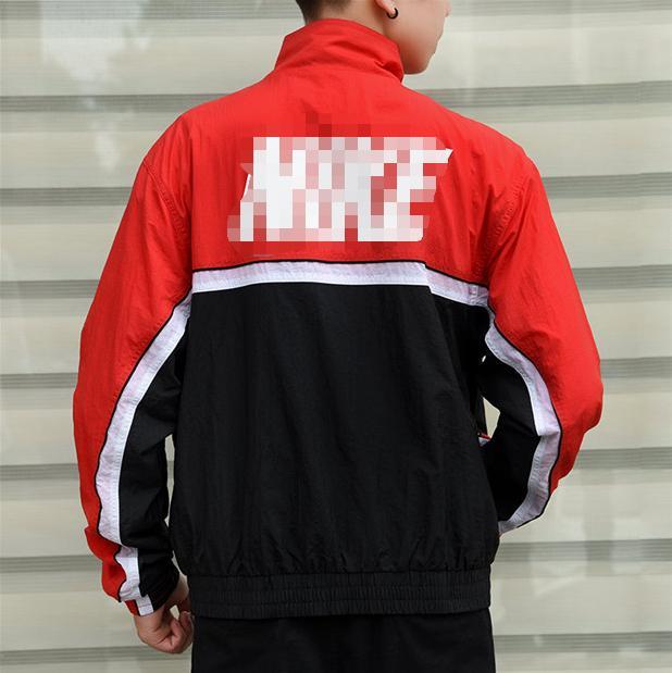Дизайнерские мужские куртки Бесплатная доставка бренд ветровка роскошные толстовки дизайнерские Мужские пальто повседневная молния верхняя одежда спортивная одежда 20032302L