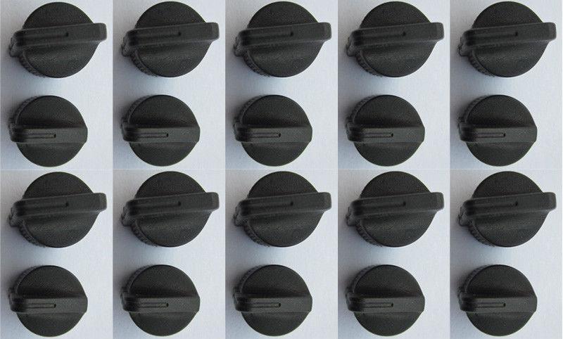 2 Volume Control knob And Channel Selector Knob Cap f Motorola Saber I IE II III