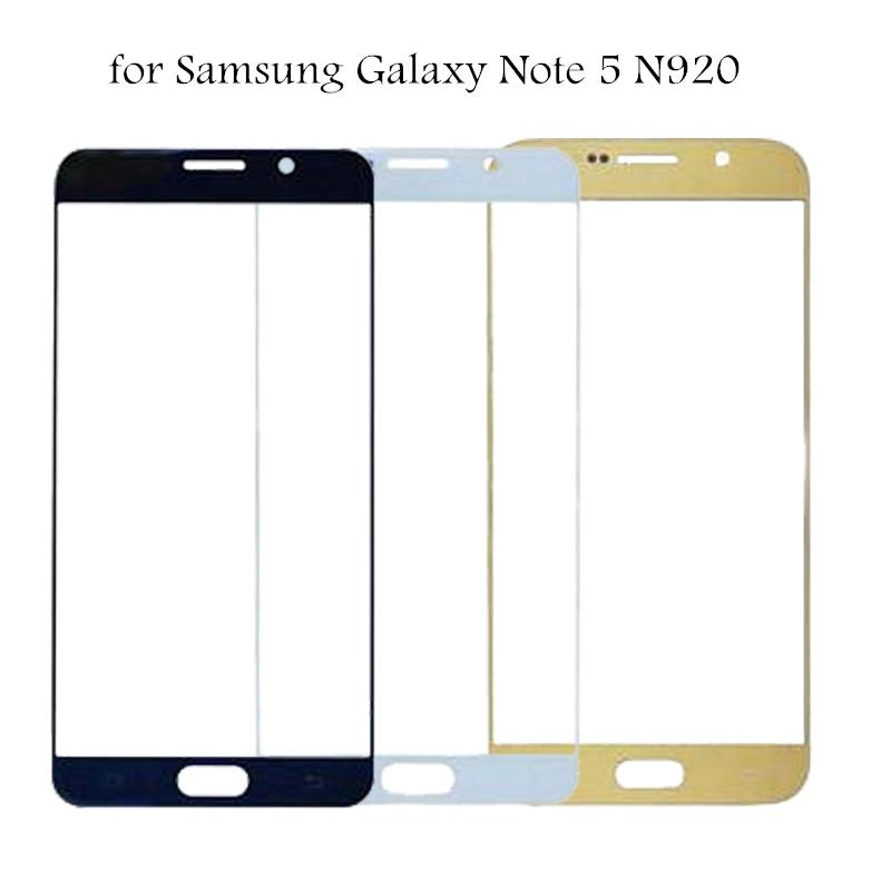 for Samsung Galaxy Note 5 N920 Glass Panel Touch Screen for Galaxy Note5 Touchscreen Panel Front Outer Glass Repair Parts