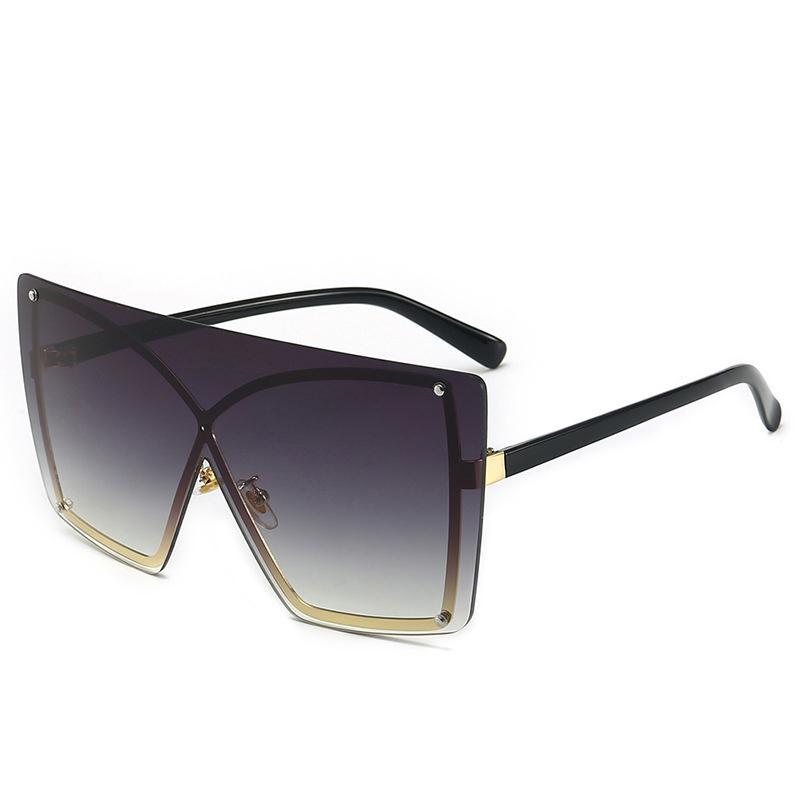 إمرأة luxtury نظارات الشمس كبيرة الحجم من الرجال والنساء 2020 نظارات الشارع في الهواء الطلق دراجة النظارات gafas الأشعة فوق البنفسجية زجاج 400 الشمس