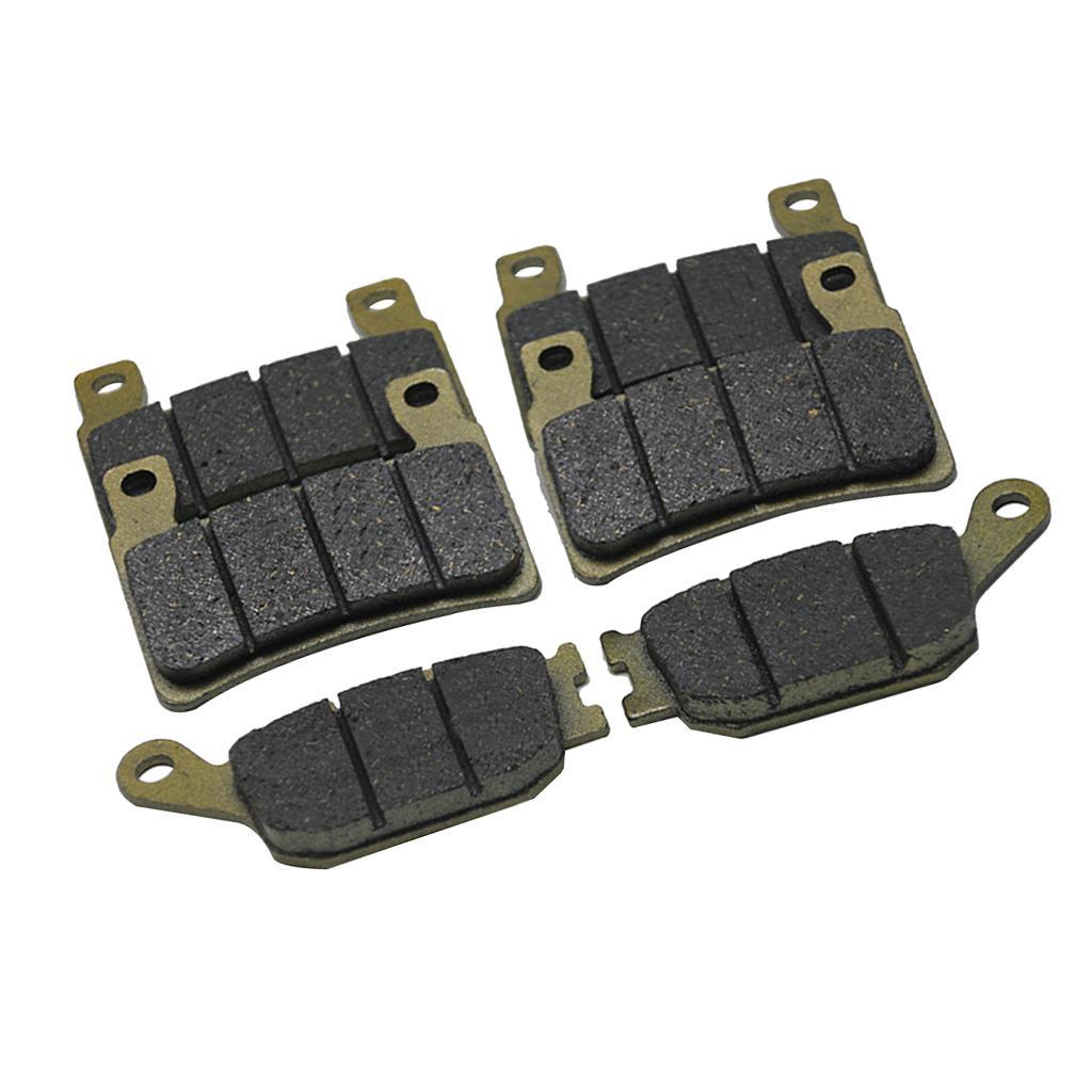 4x Dayanıklı Ön ve arka Fren Balatası Honda CBR 600 F4 F4i CBR900 CBR929 CBR954 fireblade RR VTR 1000 SP-1 (SP45) CB1300 için