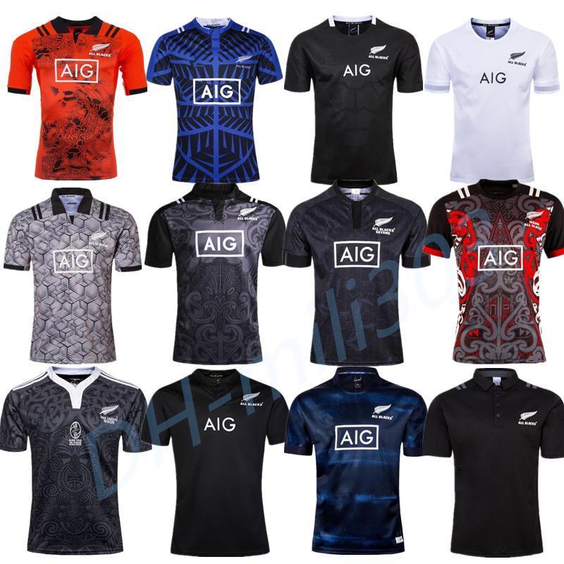 2019 2020 Rugby jerseys mejor new Zealand tamaño de la calidad del aniversario de 100 años Edición conmemorativa de rugby camiseta S-3XL