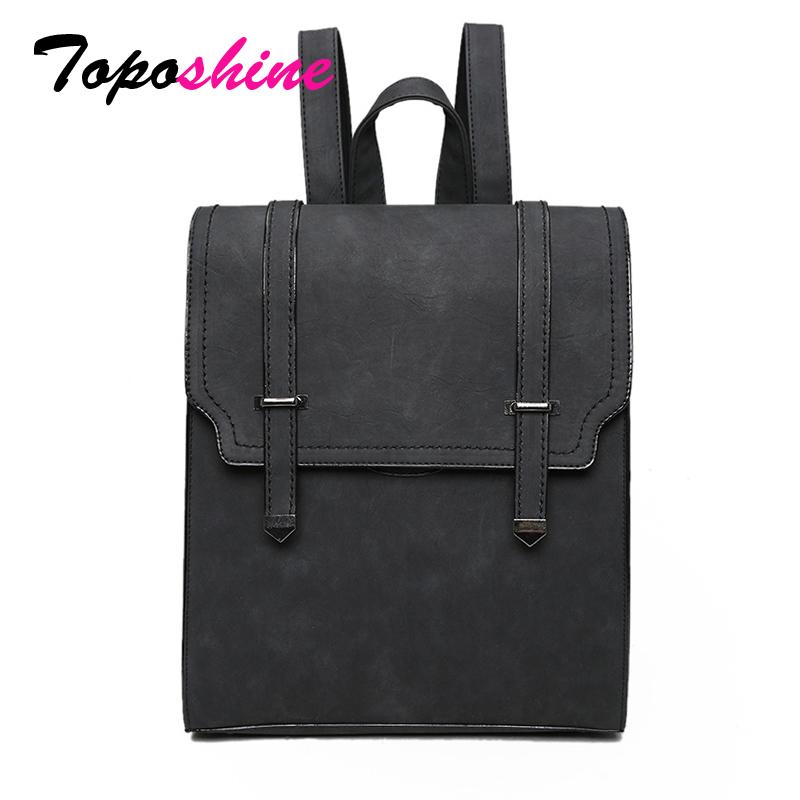 Toposhine 2018 Hot New Bag Designed Brand Cool Urban Backpack Double Arrows Women Backpack Quality Fashion Girls School Bag Y19051405