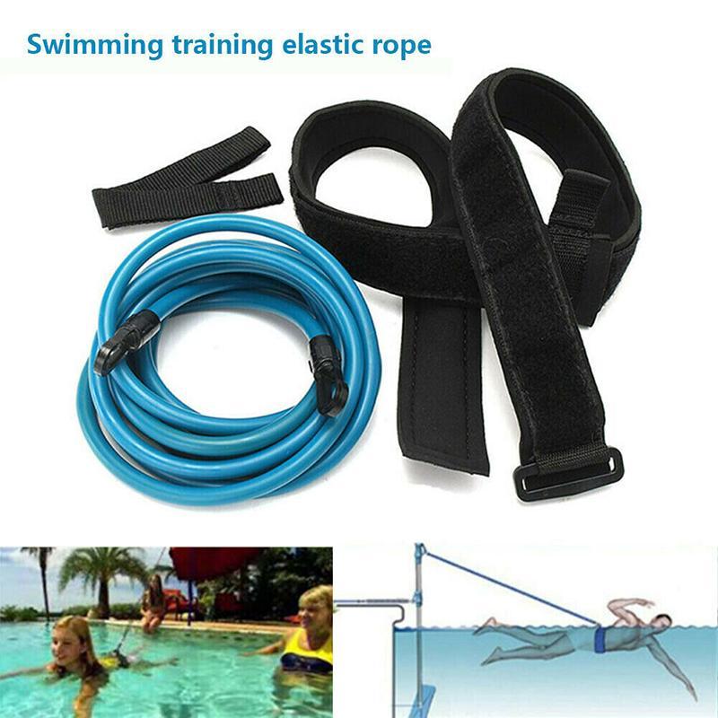 Guinzaglio Swim Bungee Belt training Piscina Resistenza sicurezza ginnico Tether Cord XR-Hot