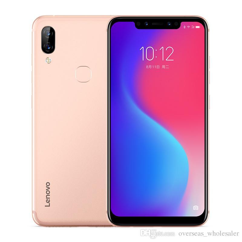 """Téléphone portable d'origine Lenovo S5 Pro 4G LTE 6 Go de RAM 64 Go de ROM Snapdragon 636 Octa Core Android 6.2 """"plein écran 20MP d'identification de visage Smart Phone"""