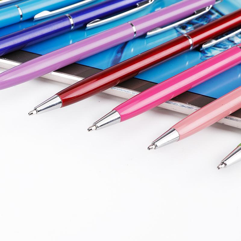 أقلام القلم القلم القلم لشاشات اللمس الهاتف أقراص أوقد والحبر الأسود أقلام حبر جاف-2 في 1 المصممون أقلام 8 حزمة