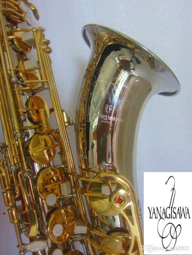 Giappone Yanagisawa T- W037 sassofono tenore Bb nichelatura chiave d'oro tenore suonando il sassofono tenore super professionale sassofono con il caso