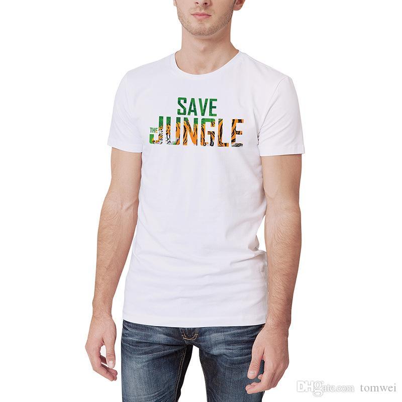 Повседневная футболка с длинным рукавом Летняя футболка с коротким рукавом Мужская летняя одежда Мужская одежда 2019 Новая мода белого цвета M-XXXL