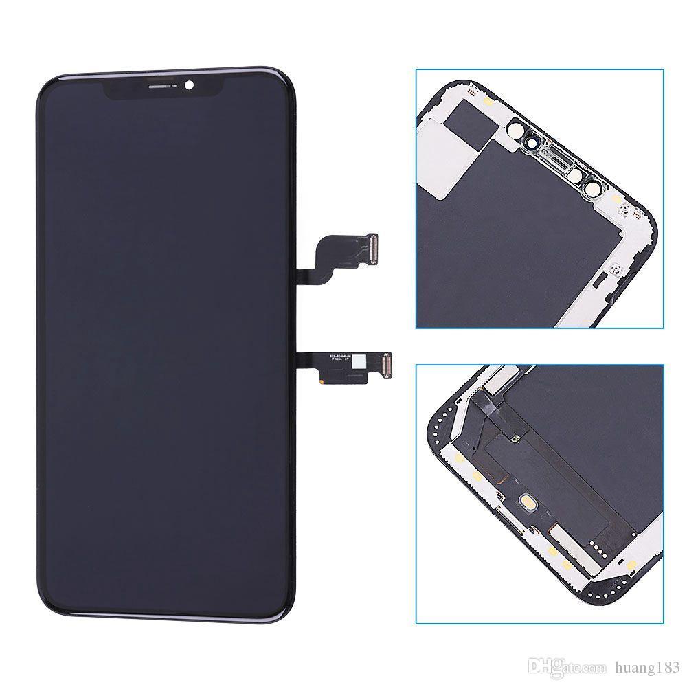 بريميوم الأصل تجديد OLED شاشة LCD للحصول على XS ماكس شاشة OLED مع شاشة 3D تعمل باللمس استبدال محول الأرقام الجمعية
