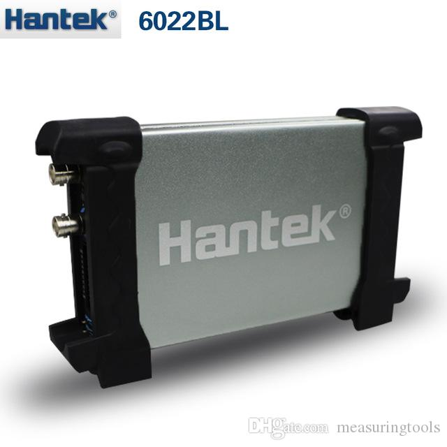 Hantek 6022bl pc escilloscopes usb المحمولة الرقمية المحمولة 2 تشانز 20 ميجا هرتز النطاق الترددي isciloscopio portatil 16channels محلل المنطق