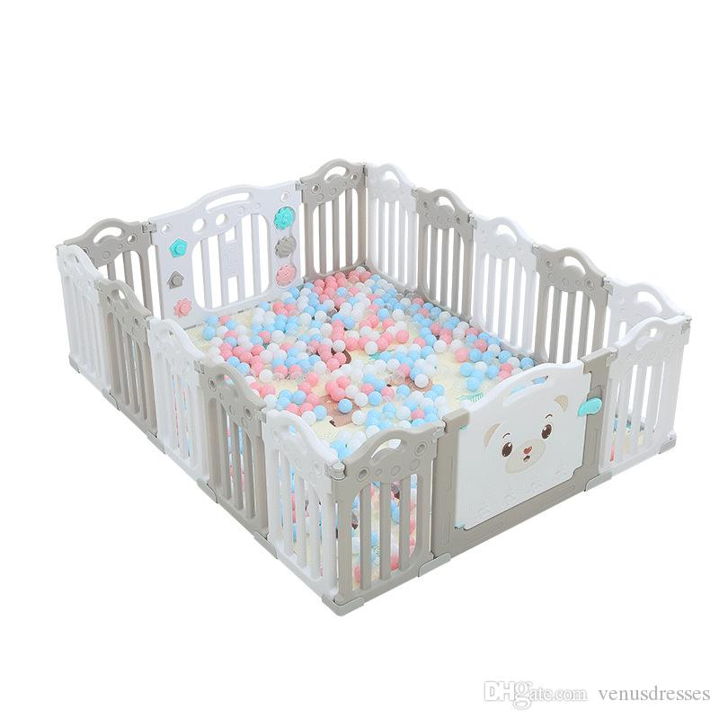 Toddler Playpen Baby Kids Educational Toy Indoor Outdoor Play Yard Fence home UK
