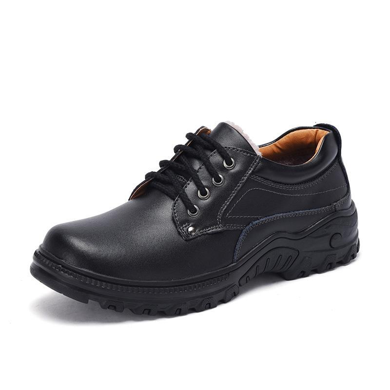 Мужская повседневная обувь Мода Мужчины Кожа Комфортное Мужчины Шнуровка ручной работы Обувь Бизнес Формальные обуви большого размера 47