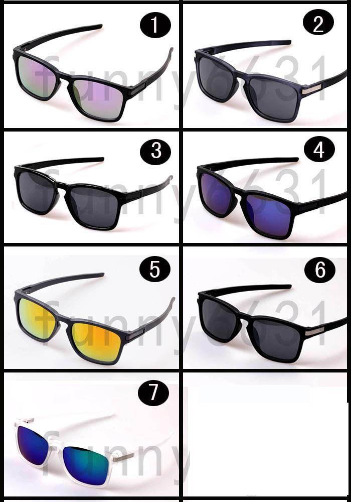 صيف جديد موك = 10 قطع الصيف الرجال الرياضة أحد نظارات القيادة النظارات دراجة الزجاج امرأة الأزياء outdoors نظارات 7 ألوان شحن مجاني