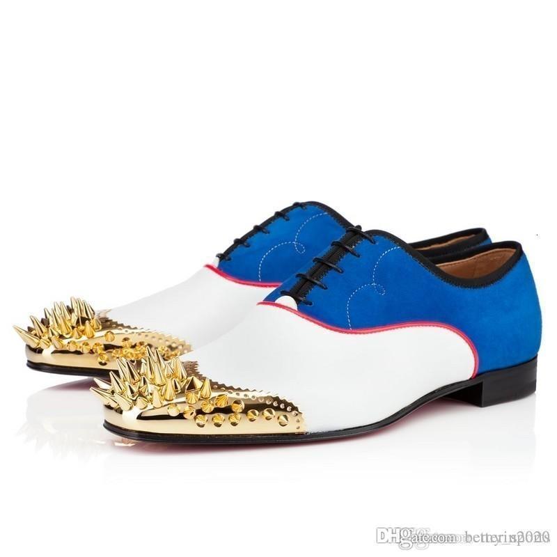 Patentes negro rojos zapatos de los holgazanes de fondo para los hombres, las mujeres se deslizan en Oxford Mejor Negocio, zapatos, zapatos de vestir de lujo Spikes fiesta de la boda plana 35-46