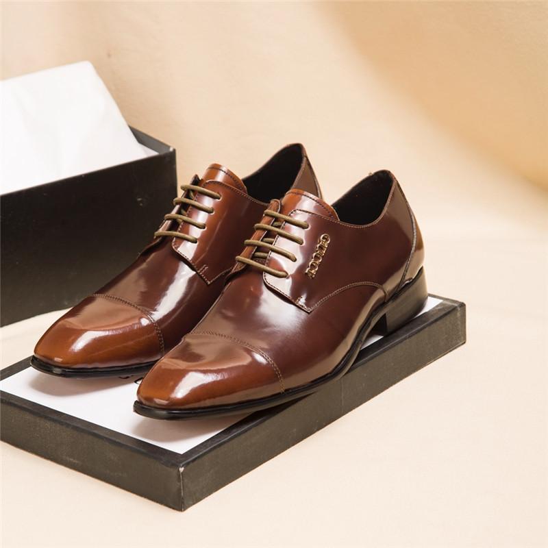 gucci 2020 Hommes DESIGNERS chaussures chaussures Belle plate-forme Chaussures de sport de luxe Designers Casual Chaussures en cuir Couleurs solides Chaussures de