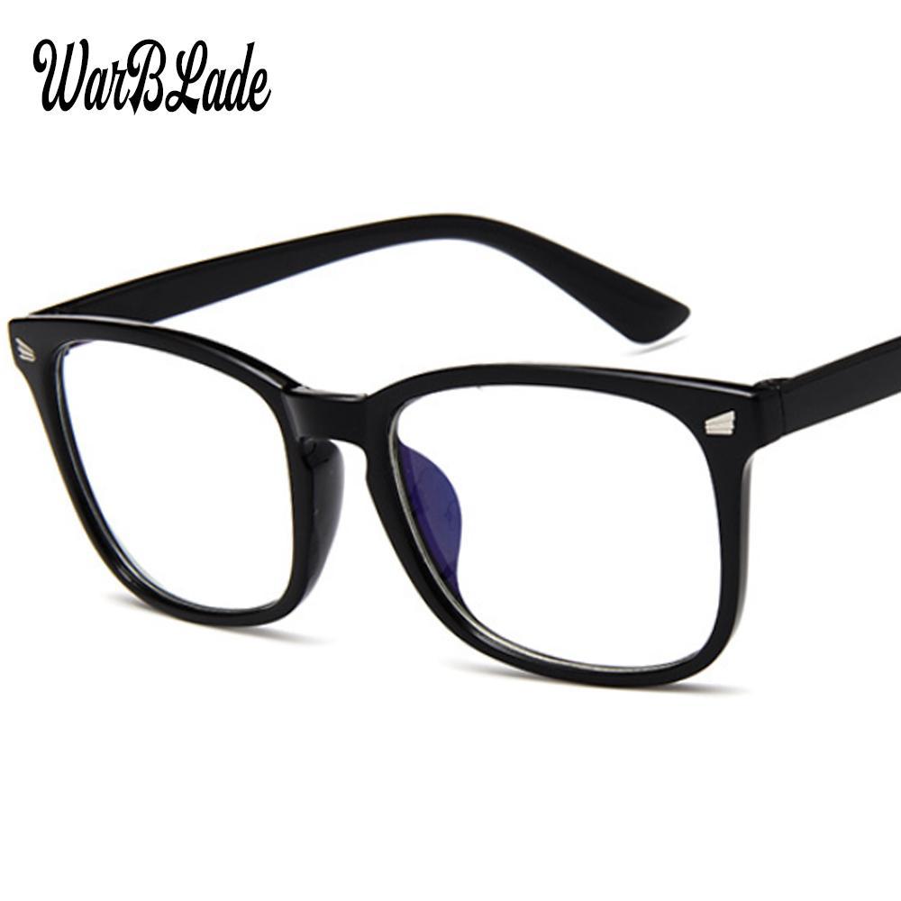 Ordinateur bleu lumière Ray lunettes optiques PC verre anti-rayonnement Eye Vision femmes protection Strain hommes Lunettes Frame WBL