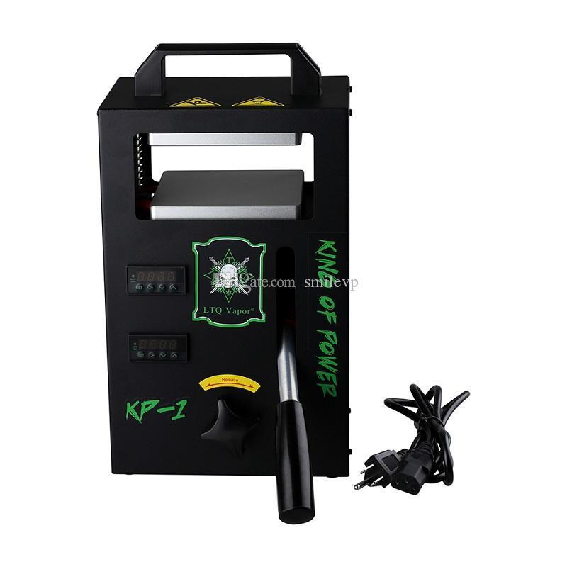 Autêntico melhor Rosin DAB Press Machine Vapor pressão de 4tons na braçadeira ajustável dupla cera de aquecimento Rosin DAB Press Machine Extracting Tool Kit