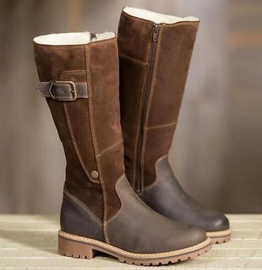 Knee High Womens Boots 2019 Winter