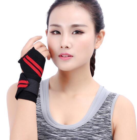Top femmes hommes bande élastique enroulement sport de garde badminton poignet haltérophilie électrique équipement de protection en gros de basket-ball de sécurité sport