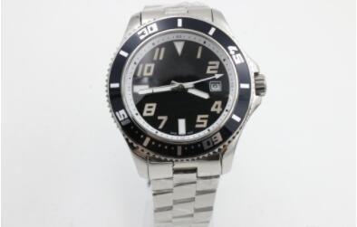 Top vente Nouvelle marque pour hommes cadran noir mouvement de montre automatique en acier inoxydable mécanique des hommes de haute qualité des montres-bracelet