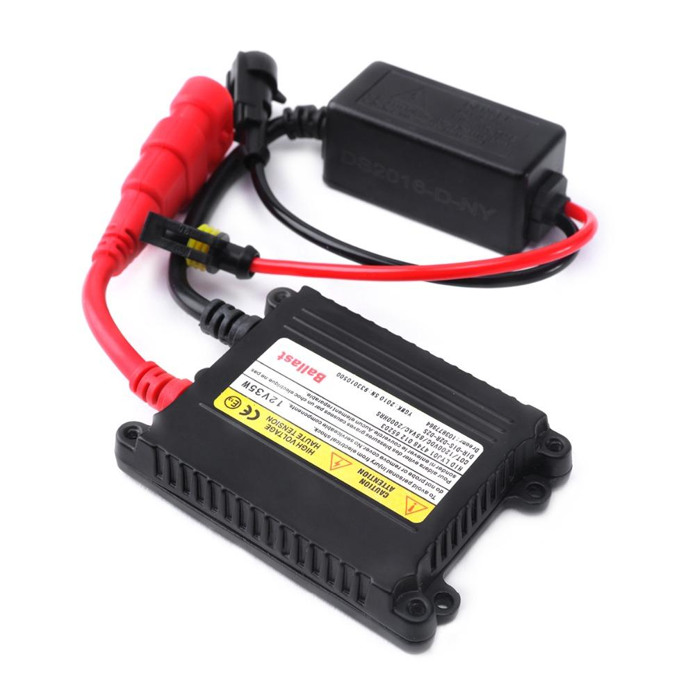 1pcs Slim HID 35W Xenon Digital Conversion Ballast Kit D1S D1R D2S D2R HID Ballast DC 12V For car headlight
