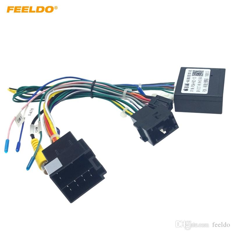 2021 FEELDO 16 Pin Car Android Stereo Wiring Harness For Citroen C QUATR/C  4 Low Trim Level 10~18 Low Trim With CANbus #6225 From Feeldo, $6.17 |  DHgate.Com | Citroen Wiring Harness |  | DHgate.com