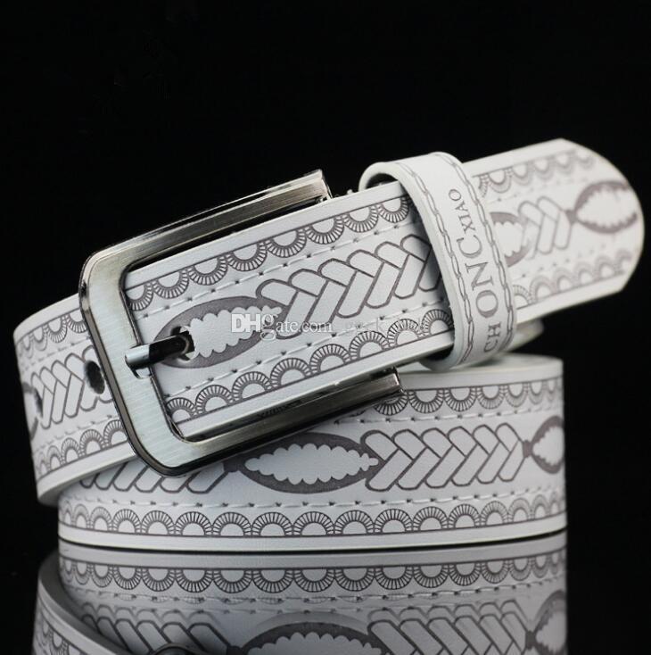New Fashion Designer versione coreana della cintura da uomo Casual fibbia cintura da uomo Cintura di lusso Bussiness Casual Cintura