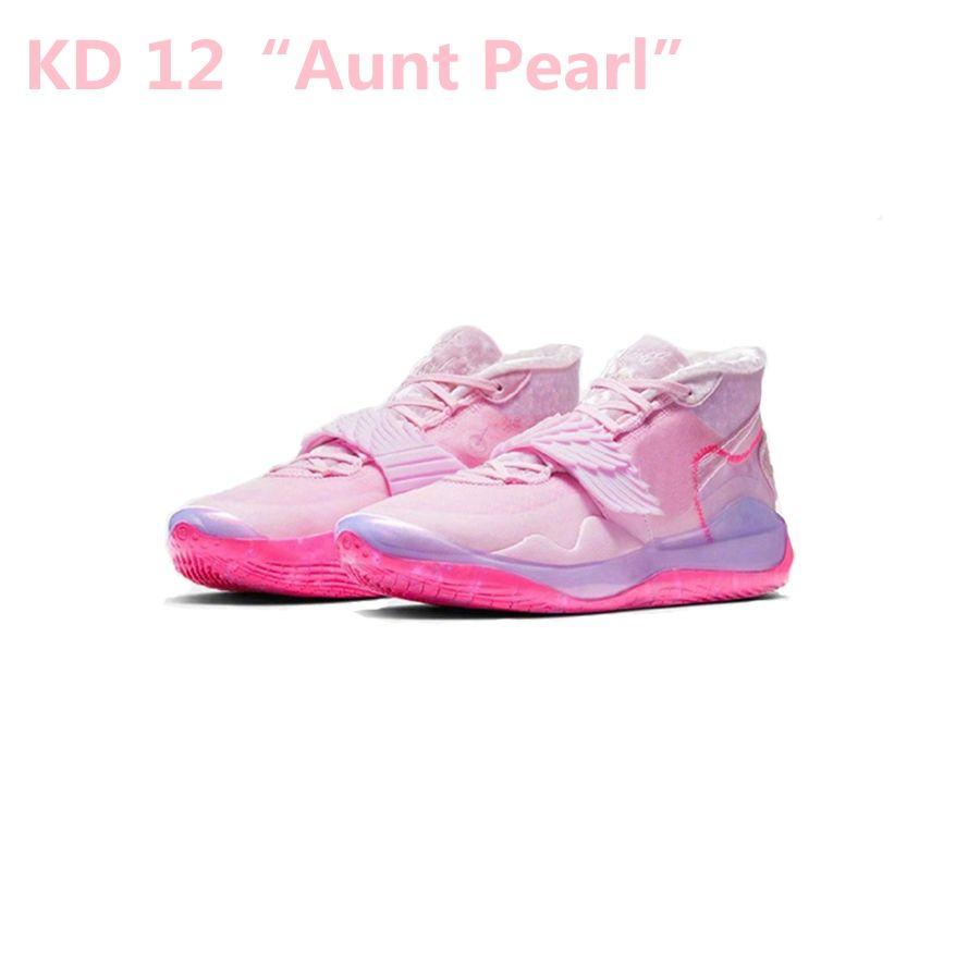 2020 Yeni Kevin Durant KD 12 Ne Teyzem 12S Erkekler Basketbol Ayakkabı XMAS EP kd12 Sport Sneakers Boyut 40-46