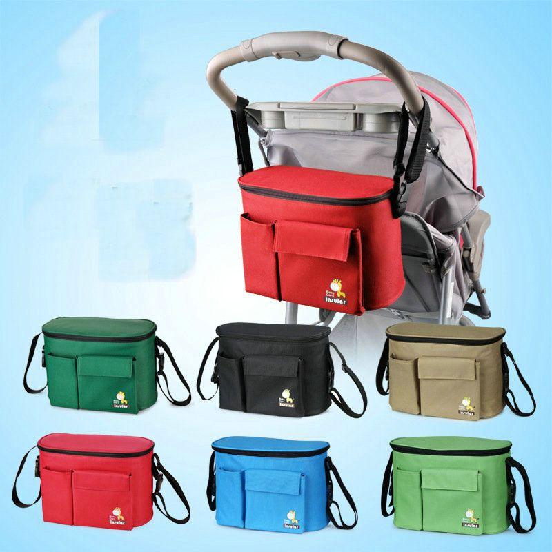 6 olors الأزياء متعددة الوظائف حقيبة مومياء حقيبة العزل للماء عربة سيارة أكياس حفاضات حفاضات الحفاض أكياس الصليب الجسم