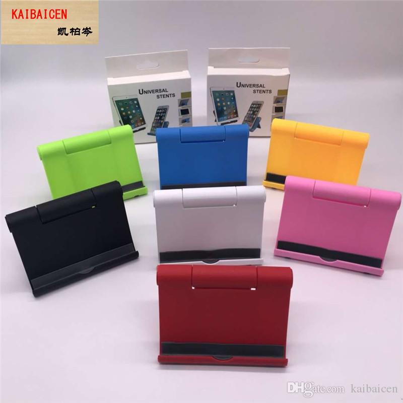 7 개 색상 다기능 전화 테이블 홀더 각도 조절 마운트 유니버설 전화 홀더 지원 휴대 전화 액세서리 스탠드