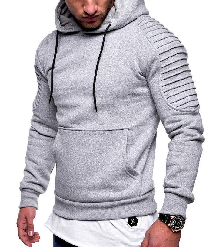Mens Casual Hoodies Adolescente Roupas Moda Tendência Mens Drapeado Primavera Outono Novo Suéter Impresso Hommes Pullovers