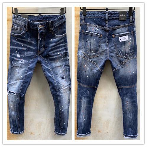 2020, el vaqueros de desgaste de los hombres americanos de verano europeo de nueva marca de moda y son los pantalones vaqueros de hombre casual LT115