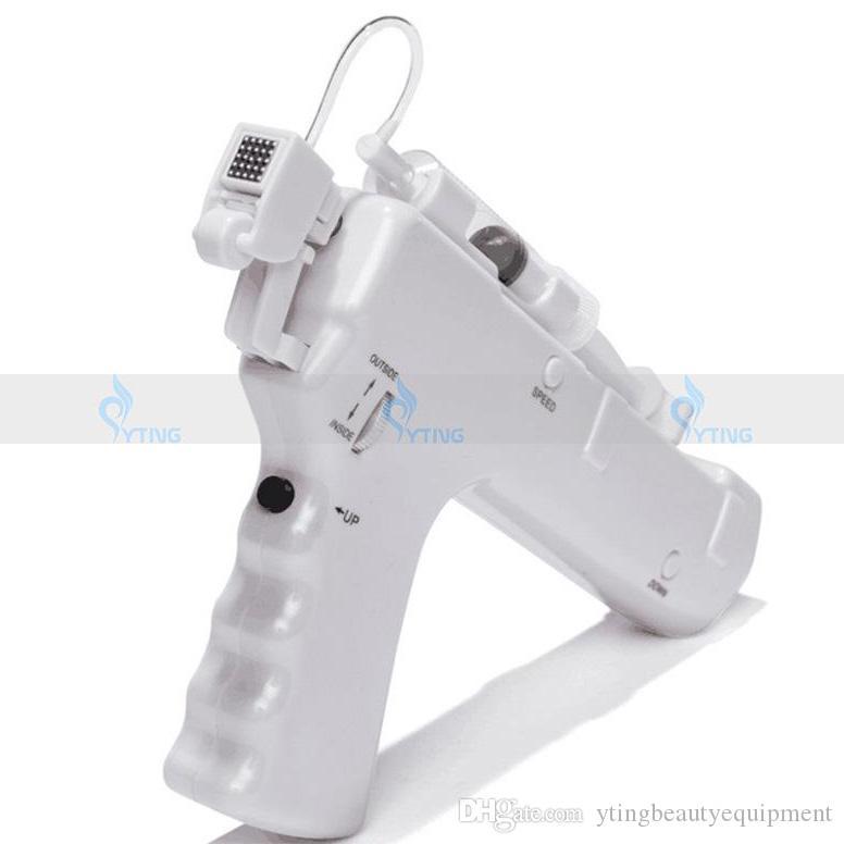 Handheld Vanadium Titanium Water Meso Injector Gun Nano Chips Dark Circle Wrinkle Remover No Needle Mesotherapy Injection Home Salon Machine