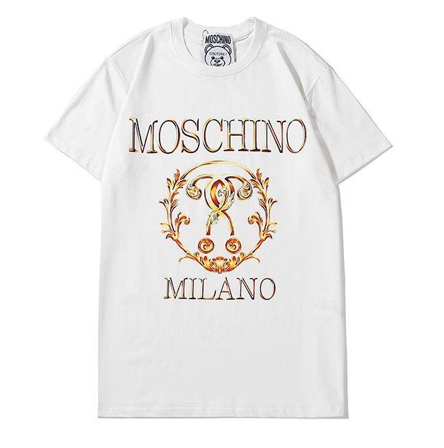 Высокое качество мужская дизайнерская футболка Женская Марка футболка с буквенным принтом тройники для Леди летний пуловер с коротким рукавом повседневные рубашки 2032701Q