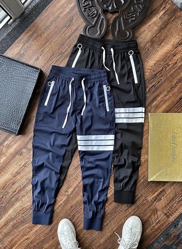 Бесплатная доставка мужские женские брендовые дизайнерские брюки весна Спорт мужские женские спортивные брюки Бегун письмо печатные Брюки длина размер M-3XL 2041502H