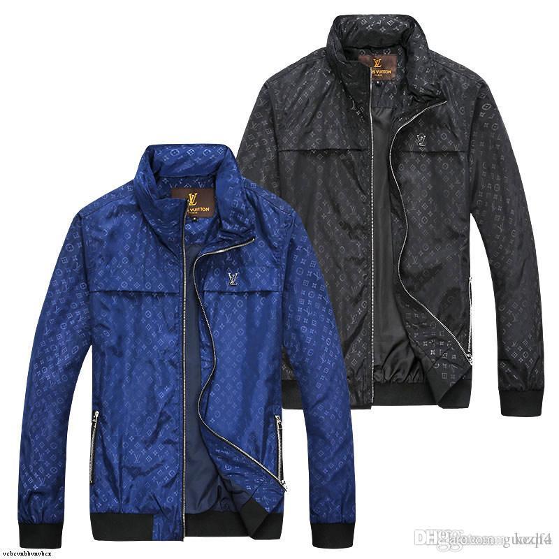 Uzun kollu parlak yazIlabilir O Soğuk fermuar 20FF Yeni Erkek tasarım Ceket WINDBREAKER Erkekler Ve Kadınlar luxurys Ceket Yeni Moda