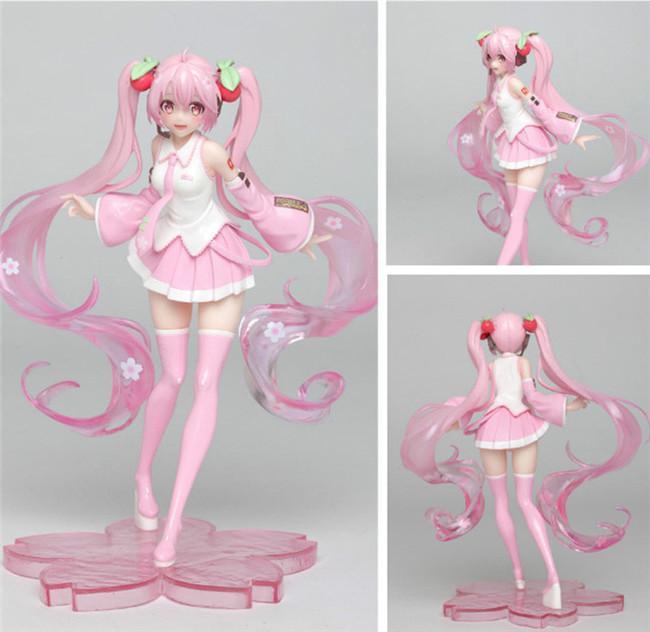 18cm chiffres animés enfants cadeaux adultes Figurines Modèle de collection Hot Toys Anniversaires Cadeaux Doll Japan Anime Miku Livraison gratuite
