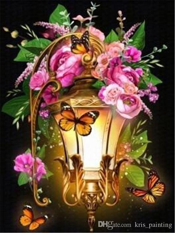 Strass voll roundsquare Diamantstickereiblume rosa Rose 5D DIY Diamant Malerei Kreuzstich Kit nach Hause Mosaik Dekor Geschenk BB0990