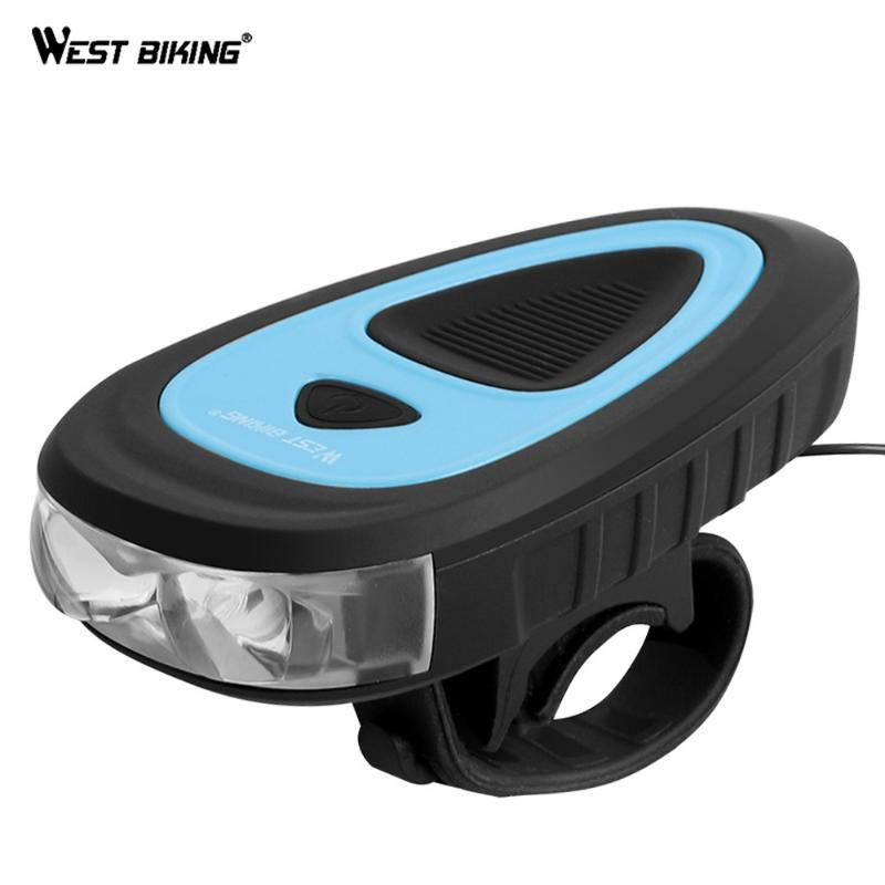 WEST BIKING Bicycle Bike Light For Mountain MTB Waterproof LED Bicycle Light Front USB Cycling Lights Bike Cycling Accessories