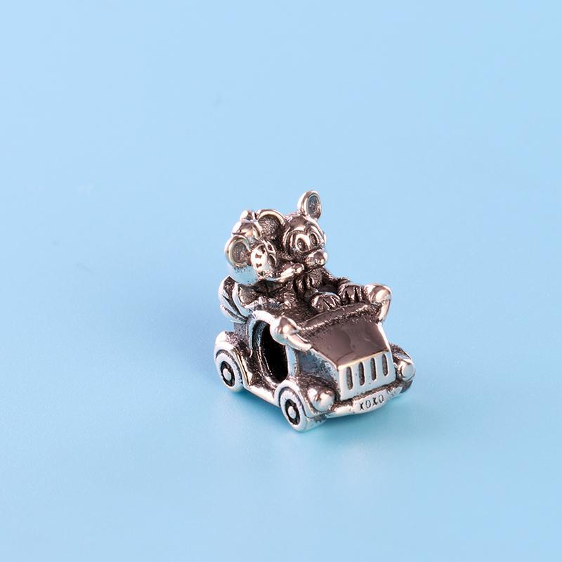 Al por mayor de los granos del encanto de lujo joyas de diseño para Pandora plata de ley 925 pulsera de regalo de bricolaje de cuentas damas con la caja original