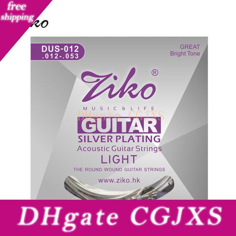 3sets/lot 012-053 ZIKO DUS-012 Acoustic guitar strings guitar parts wholesale musical instruments Accessories