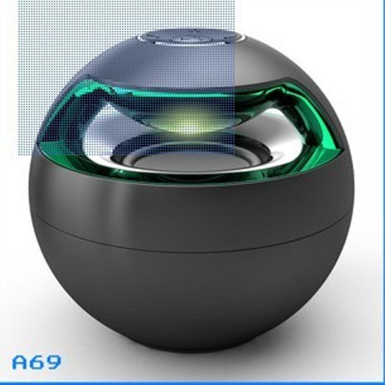 AJ-69 미니 액티브 블루투스 스테레오 스피커 미니 스피커 블루투스 스피커 마이크 LED 라이트 스피커 서라운드 사운드