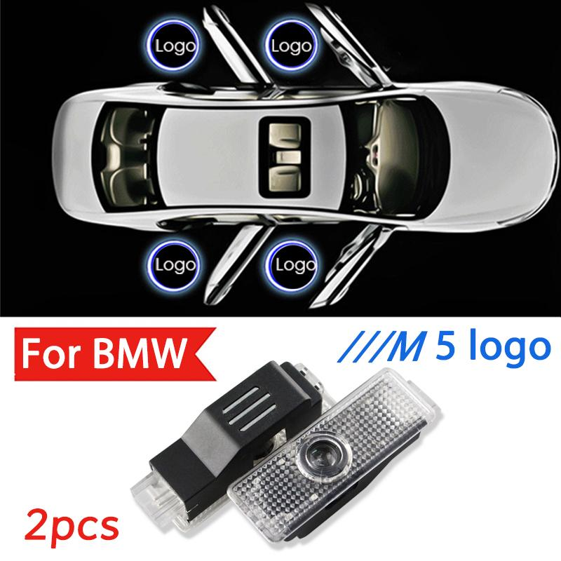 2pcs Led /// M5 Laser Projector Light For E60 E61 M Performance X DRIVE Car Door Light Ghost Shadow Lamp Accessories
